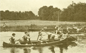 canoes on Cherwell