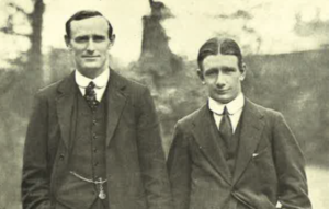 England & Ireland captains 1914