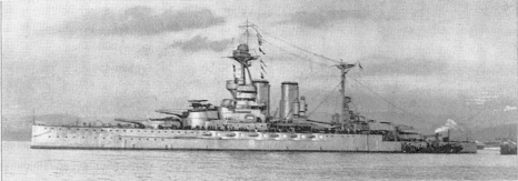 HMS Valiant 1918