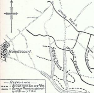 guedecourt-map